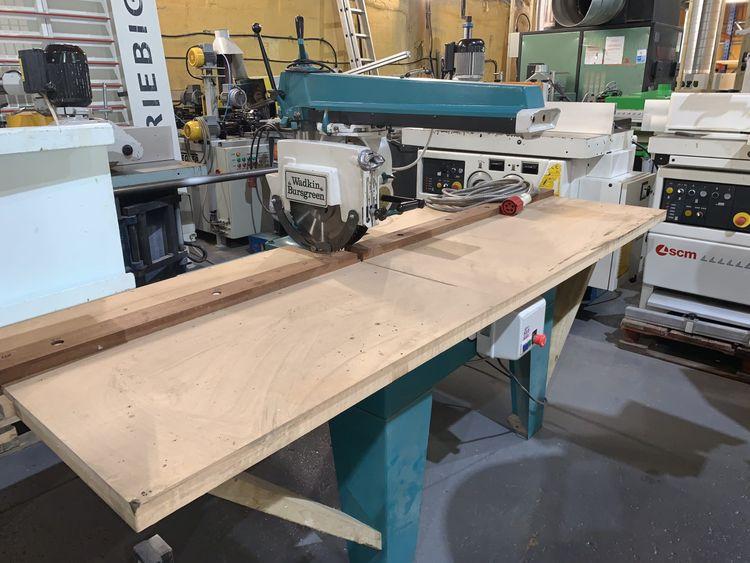 Wadkin BRA 350, Cross Cut Saw