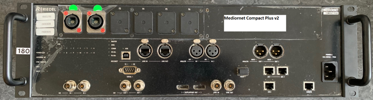 6 Riedel Mediornet Compact Frames in different versions