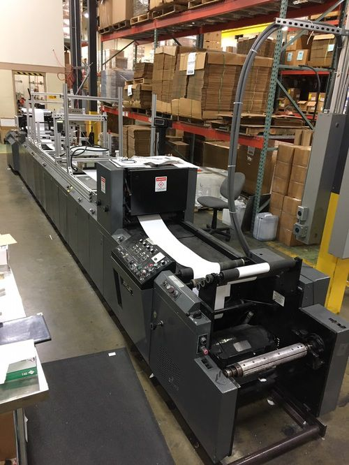 DG 860, Ink Jet Transport Press