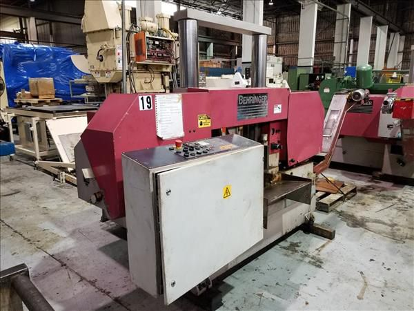 Behringer HBP 430A HORIZONTAL BAND SAW AUTOMATIC