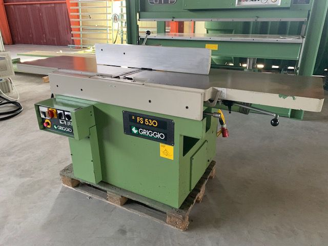 Griggio FSA 530, Surface and thickness planing machine