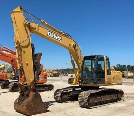 John Deere 160D LC Tracked excavator