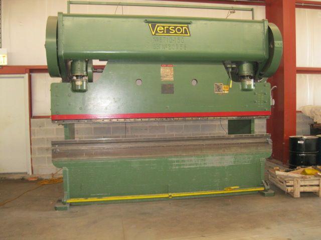 Verson B-710, Press Brake Max. 225 TON