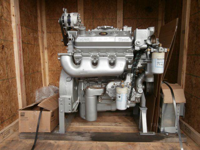 Detroit DIESEL 6V92 NA Diesel Marine Engine