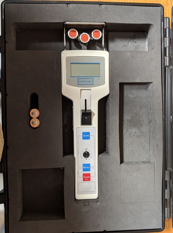 Other Tension meter DTMB-500 Tension measurement using proprietary calibration formulas
