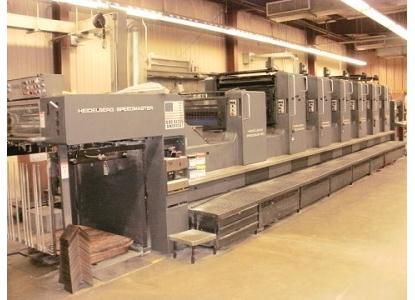 Heidelberg 102SP+L, 6 Colors Offset Machine Max. 72 x 102 cm
