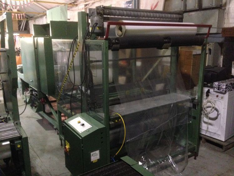 EDL 50/50SS ,sleeve sealing machine and heat tunnel