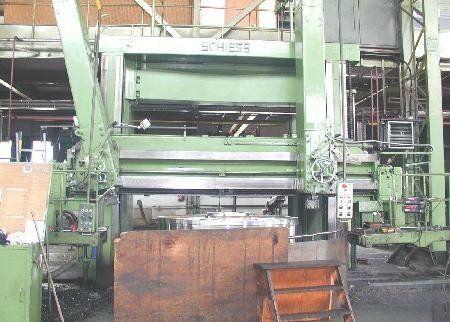 Schiess Vertical Turret Lathe Max. 80 U/min KZ 350/420
