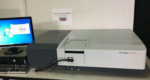 Shimadzu UV-3600 UV-VIS-NIR Spectrophotometer w/ ISR-3100 Integrating Sphere