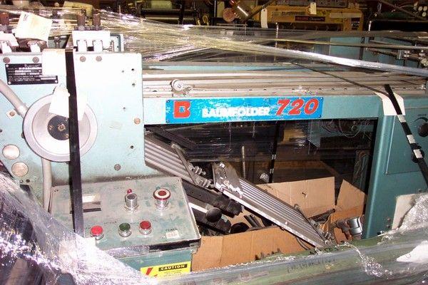 Baum 720 P, Folding machine
