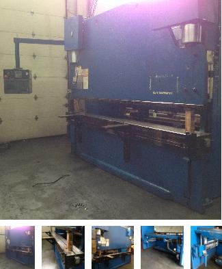 Pullmax Optima 320, CNC Hydraulic Press Brake Max. 350 Ton