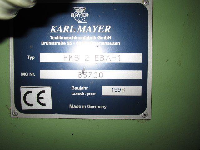 Karl mayer, Warp knitting Running