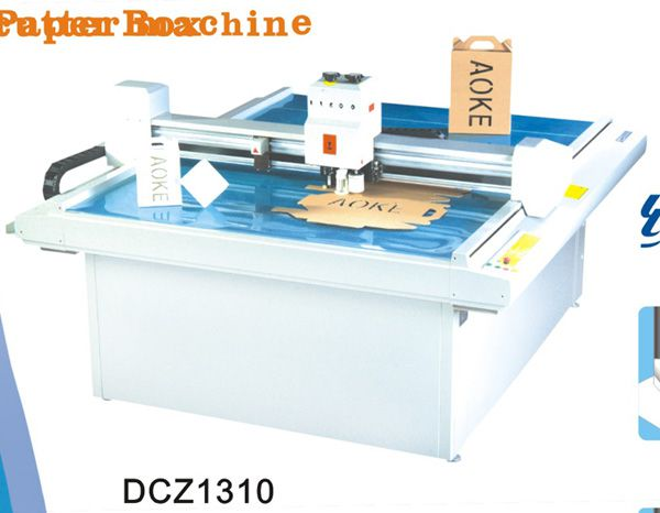Others DCZ1310 carton box die cut plotter sample flat bed cutting machine DCZ1310 carton box die cut plotter sample flat bed cutting machine