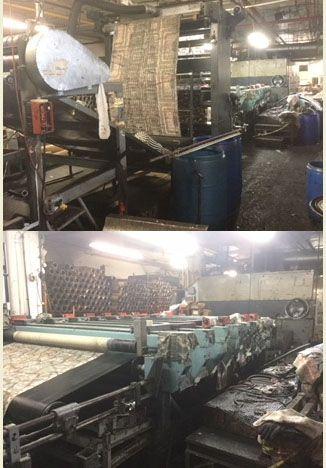 "Stork RD IV 72"" Rotary printing machine"