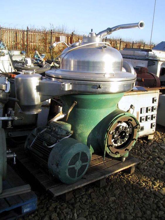 Westfalia model SAK 20036 centrifuge
