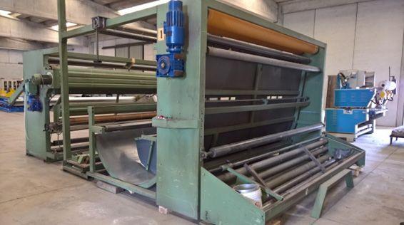 Tessilmeccanica Preparing machine for fabric unbleached