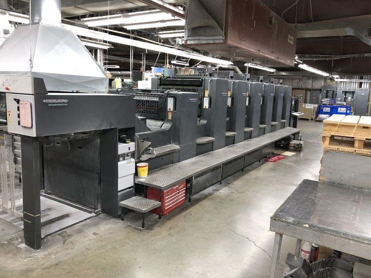Heidelberg SM102-6P+LX 28x40 inch
