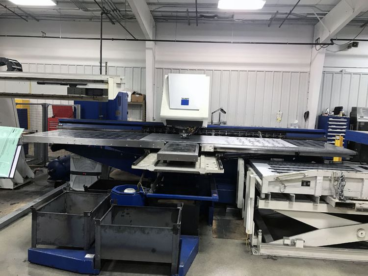 Trumpf TruPunch-5000-1300 Punching Machine With Sheetmaster Load and Unload System 25 Ton