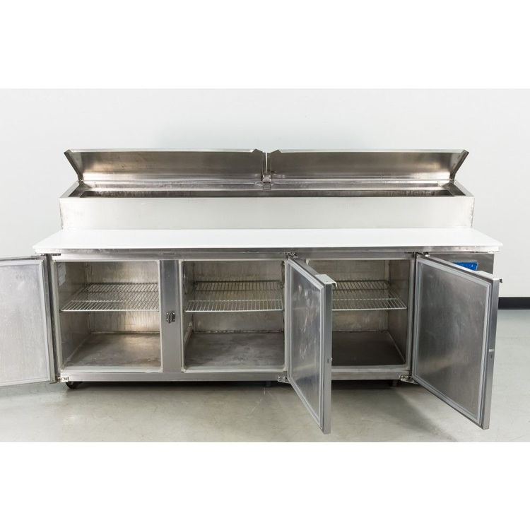 McCall PTA-3 3 Door Refrigerated Pizza Prep Table
