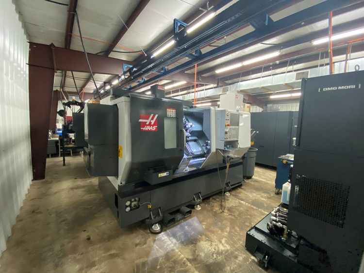 Haas CNC Control 4500 RPM DS-30Y 4 Axis