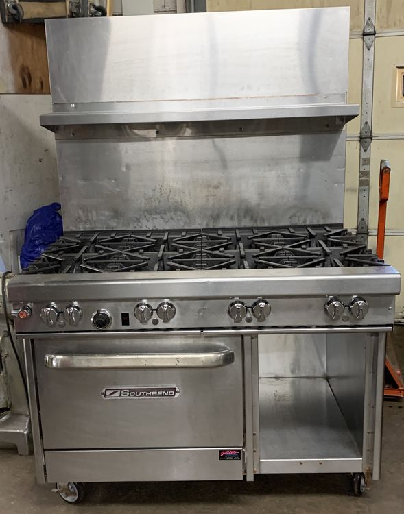 Southbend 4481AC 8 BURNER SINGLE CONVECTION OVEN