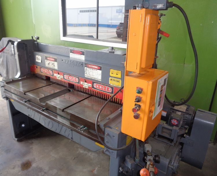 Wysong Mechanical Power Shear 1252
