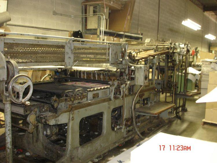 Miehle Die Cutting Press