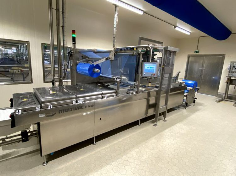 Multivac 535 vacuum Forming, filling and vacuum packaging machine