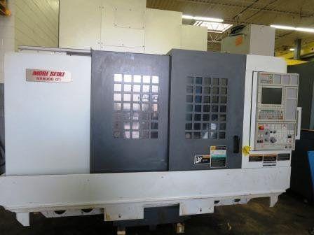 Mori Seiki NV 5000-1B40 3 Axis