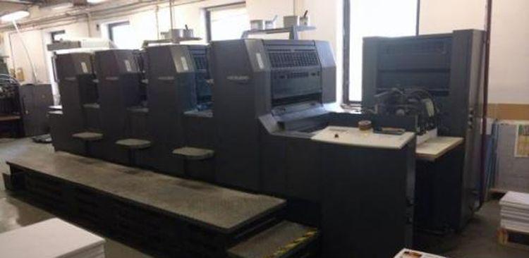 Heidelberg Printmaster PM 74-4 53 x 74cm