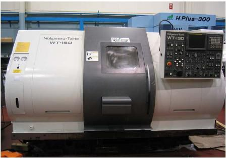 Nakamura Tome FANUC 18i-TB CNC CONTROL 5000 RPM WT-150 MMYS 8 Axis