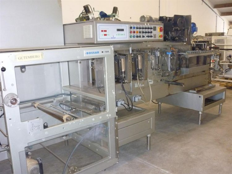 Bossar B-1600D,Guttemberg) horizontal-, form-, fill-, and sealmachine