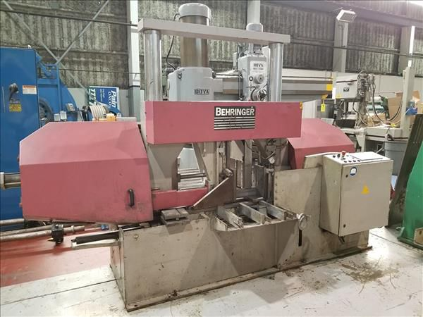 Behringer HBP 530A HORIZONTAL BAND SAW Automatic