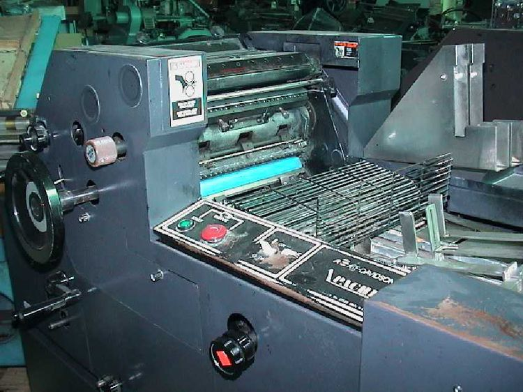 Chief 2115, 1 color Offset machine