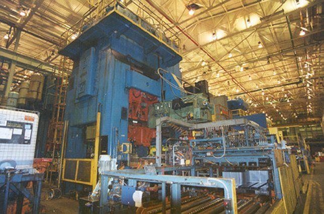 Danly DE-1000/600-120-84 1600 ton