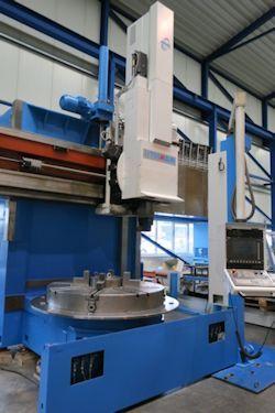 TOS SKIQ 16 CNC Vertical lathes