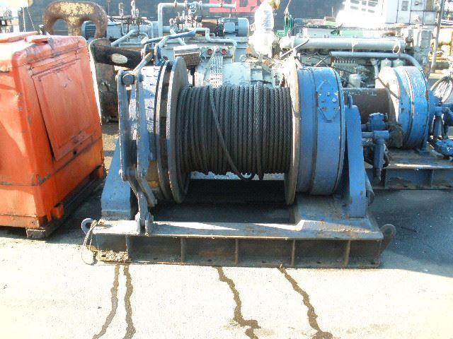Hagglunds Hagglunds 63 series High Pressure Winch & Netdrums