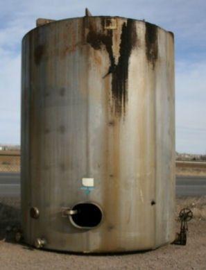 Mueller Vertical 316th Stainless Steel Single Shell Tank