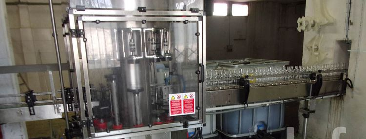 Zalkin verre 2000 , bottling line
