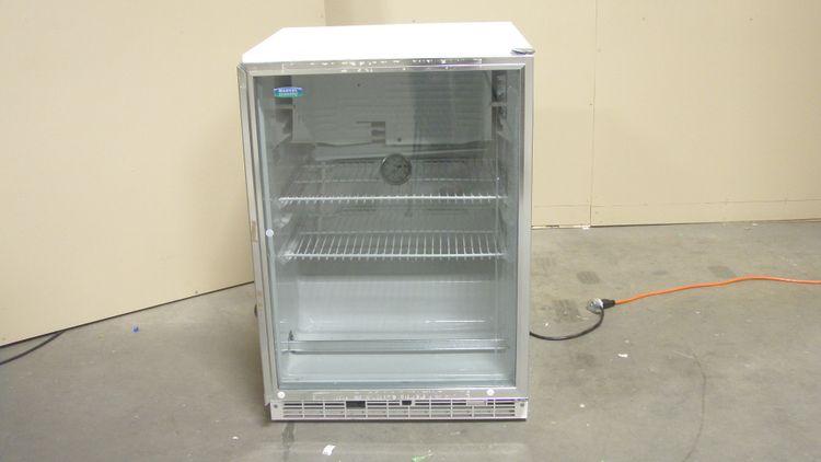 Marvel Scientific 6CAR Foot Glass Door Refridgerator