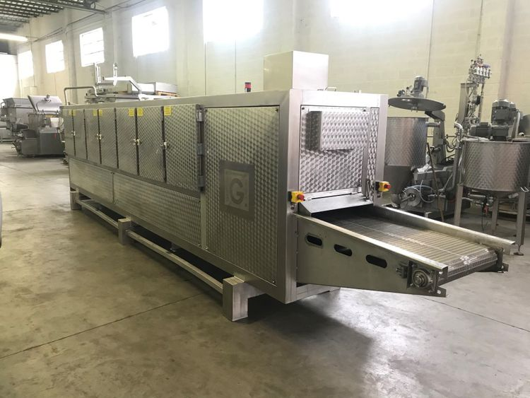 Gernal BMT-6200X600 HOT AIR OVEN - AFTER HEATING TUNNEL