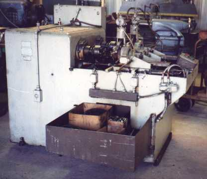 Acme, National No. 2 Twin Spindle Threading Machine