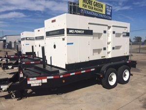 Multiquip DCA-300SSCU2/DF-3300C Portable Generator Set 300 kva