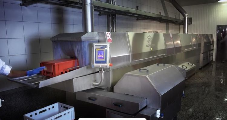 Metalbud Nowicki MPA-1200 Automatic Industrial Container Washer
