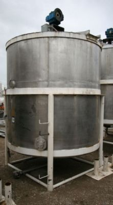 Others Single Shell Stainless Steel Tank