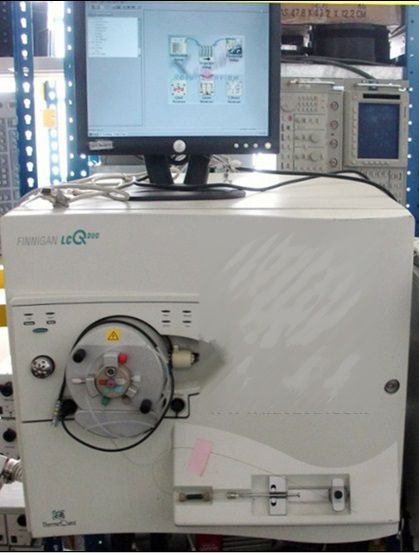 Thermo Finnigan LCQ Duo LC/MS/MS mass spectrometer