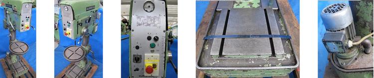 Alzmetall AB 35 S, Pillar Drilling Machine Max. 1750 rpm