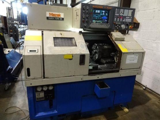 Mazak MAZATROL T PLUS Max. 6000 r / min QT 8 N 2 Axis CNC Lathe