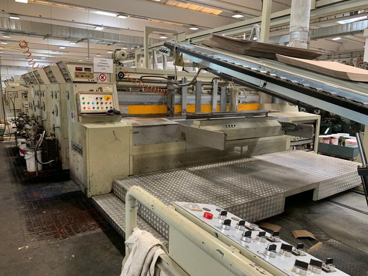 Curioni CASEMAKER of year 2000-2007 Available In March/April 2021 3 flexo print 3.400 x 1.350 mm