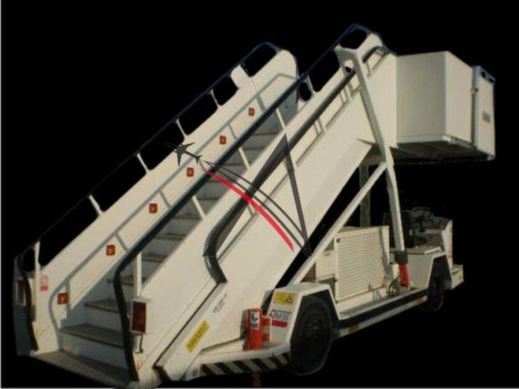 FMC UDS-2, Self Propelled Step Passenger Stair